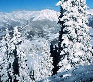View of Snodgrass Mountain