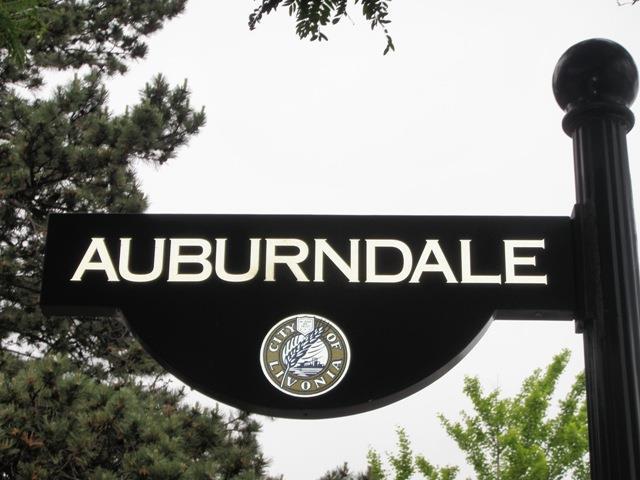 Auburndale Street In Rosedale Gardens Livonia Michigan