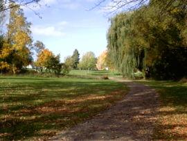 Walker's Creek, one of the paths and parks that St. Catharines is known for.
