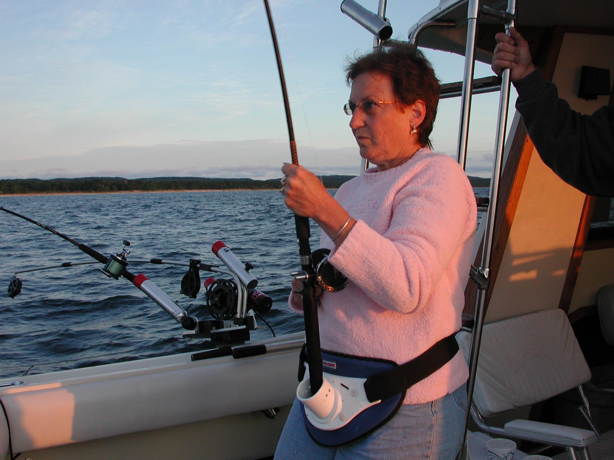 Mary DeWitt Broker / Real Estate Agent Fishing near Leland