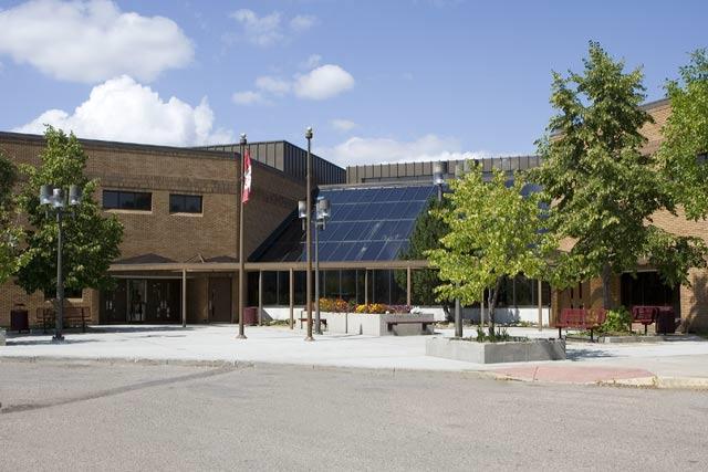 Marion M Graham Collegiate in Silverwood Heights, Saskatoon
