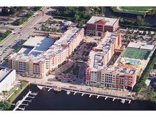 Bayfront Naples Fl aerial view