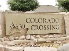 Colorado Crossing Austin Entry Sign