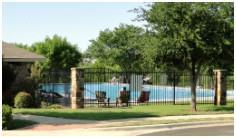 The Hillcrest community center pool