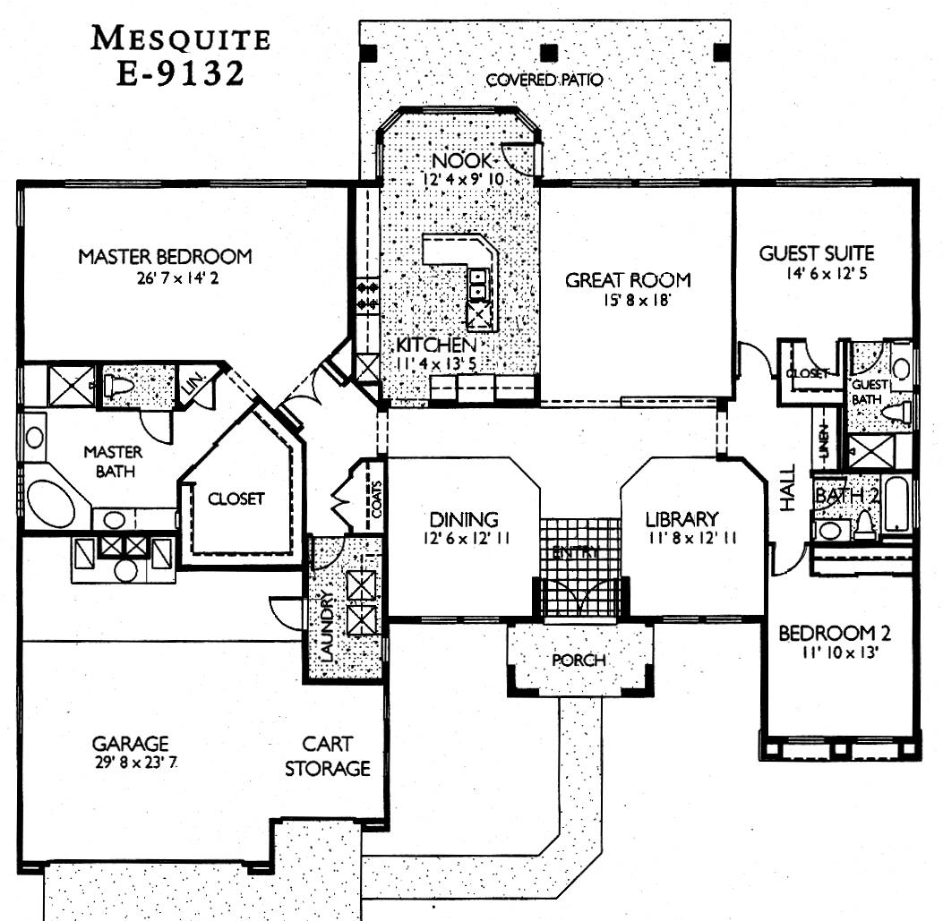 Sun City Grand Mesquite floor plan, Del Webb Sun City Grand Floor Plan Model Home House Plans Floorplans Models in Surprise Phoenix Arizona AZ Ken Meade Realty Kathy Anderson
