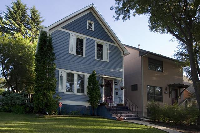 Typical homes in Buena Vista aarea of Saskatoon