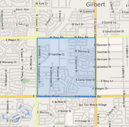 CTA–Liberty_Elementary_School_Homes_for_Sale Boundary Map