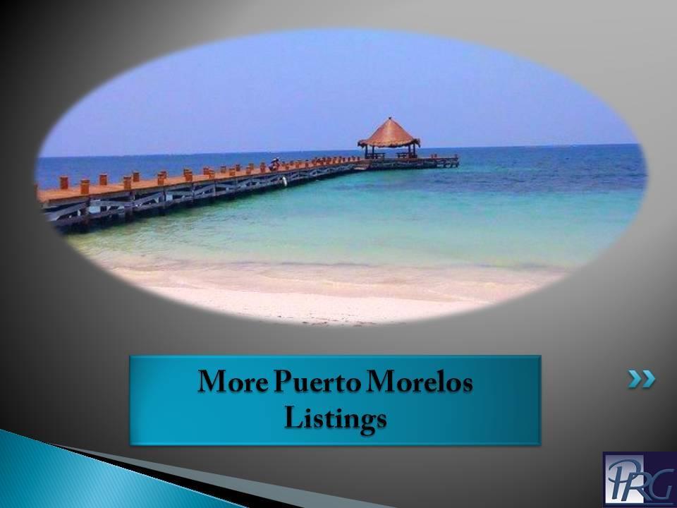 Puerto Morelos Real Estate