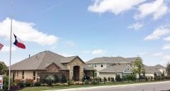 View of the Reunion Ranch model homes