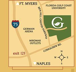 Grandezza Location Map