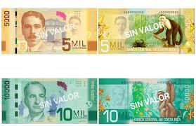 Costa Rica Bank Notes