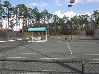Carlton Lakes Naples Fl tennis court