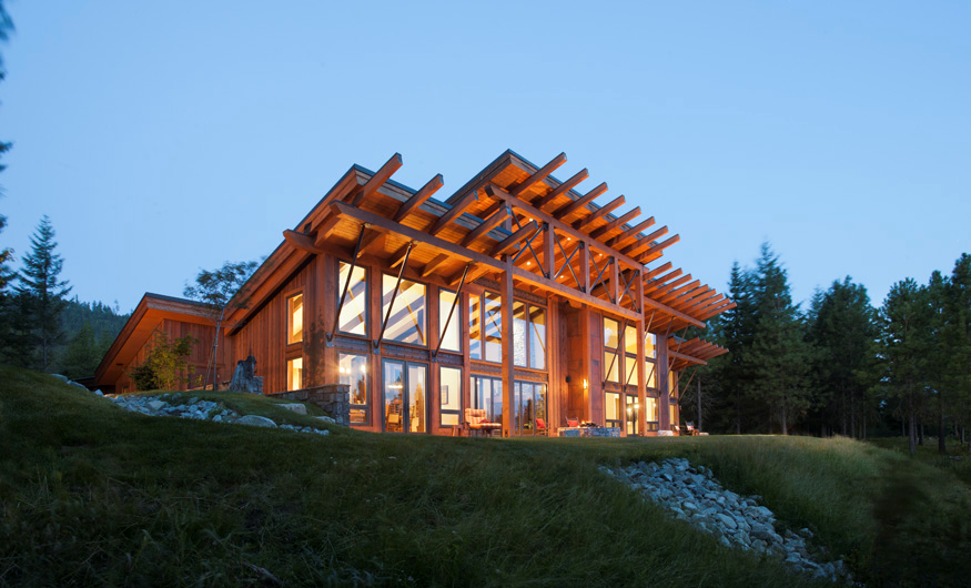 Green Building using sustainable Forest products, incorporating ...