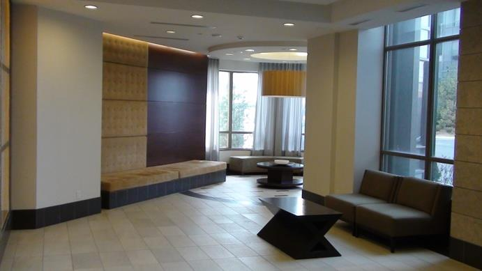 Grand Ovation condominium lobby