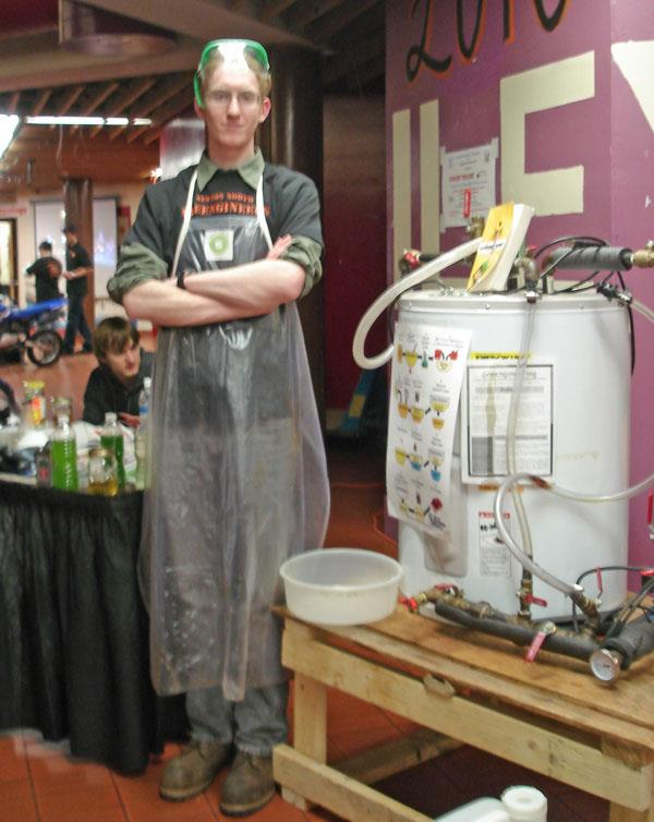 Biodeisel fuel project spawns new curriculum at Newton North High School