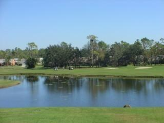 Foxfire Naples Fl lake and golf course