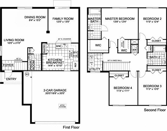 Single family floor plans eric slifkin for Three family house plans