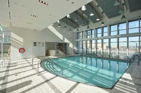 City Gate condominium in-door swimming pool