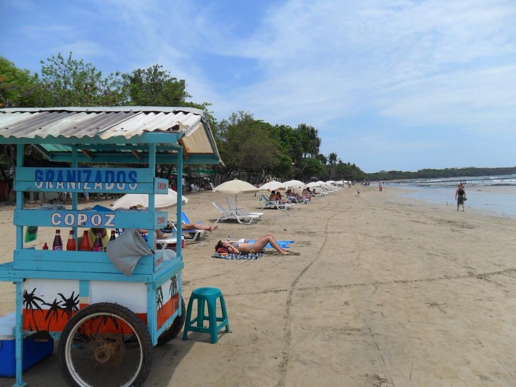 Granizados cart in playa tamarindo cost rica