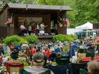 Bluegrass Festival in Wind Gap PA