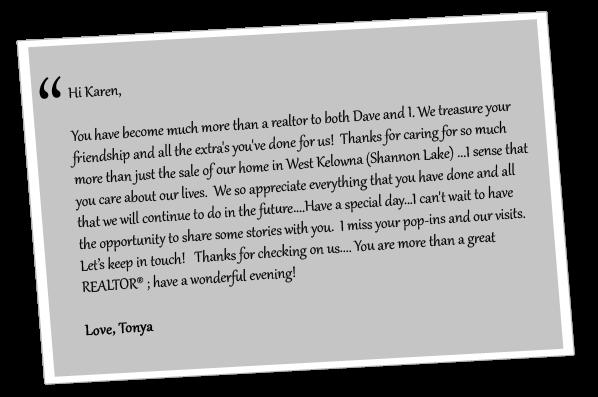 Testemonial from Tonya