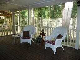 Screened Porch After Staging