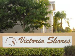 Victoria Shores Naples Fl sign