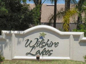 Wilshire Lakes Naples Florida