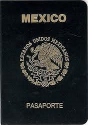 Description: Mexican Passport