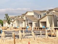 More new homes in the Enclave on Cooper Lane in South Austin 78745