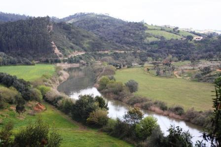 River Mira in Odemira