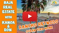 Ocean view Home for Sale in Rancho Reynoso