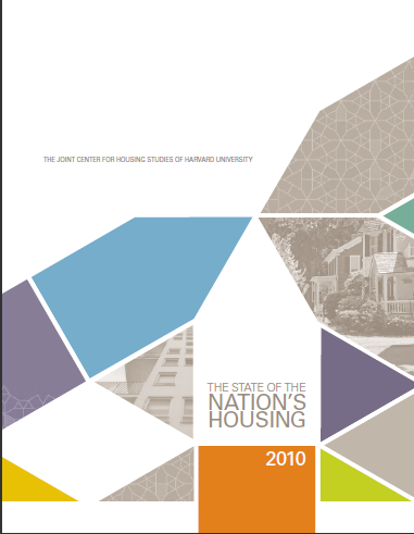 National Housing Report released from Harvard University