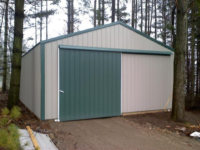 Pole Barn Clearance Traverse Builder Siding Roofing