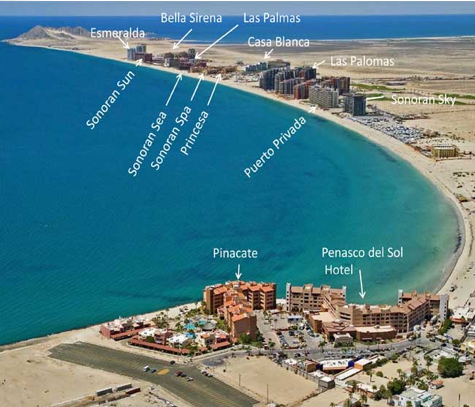 Resorts And Condos Of Rocky Point Puerto Penasco Mexico