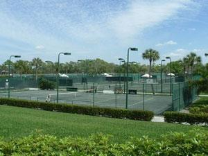 Naples Tennis Club and Resort tennis courts