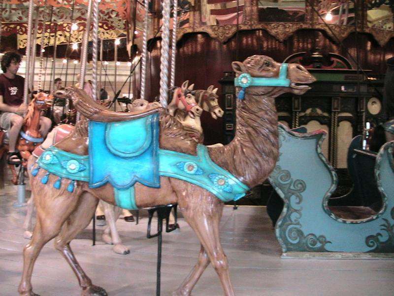Carousel in Port Camel
