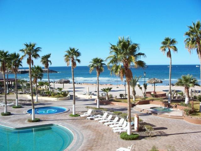 Marina Pinacate Resort on Sandy Beach