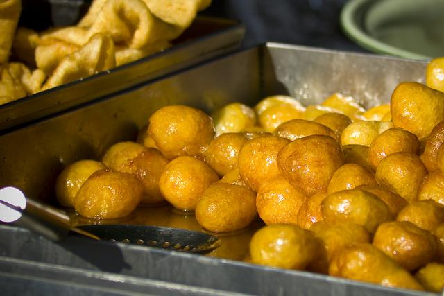 Loukoumades is atraditional Greek sweet found all over Cyprus