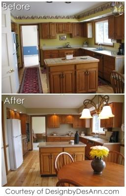 Real Estate Home Staging - Before and After
