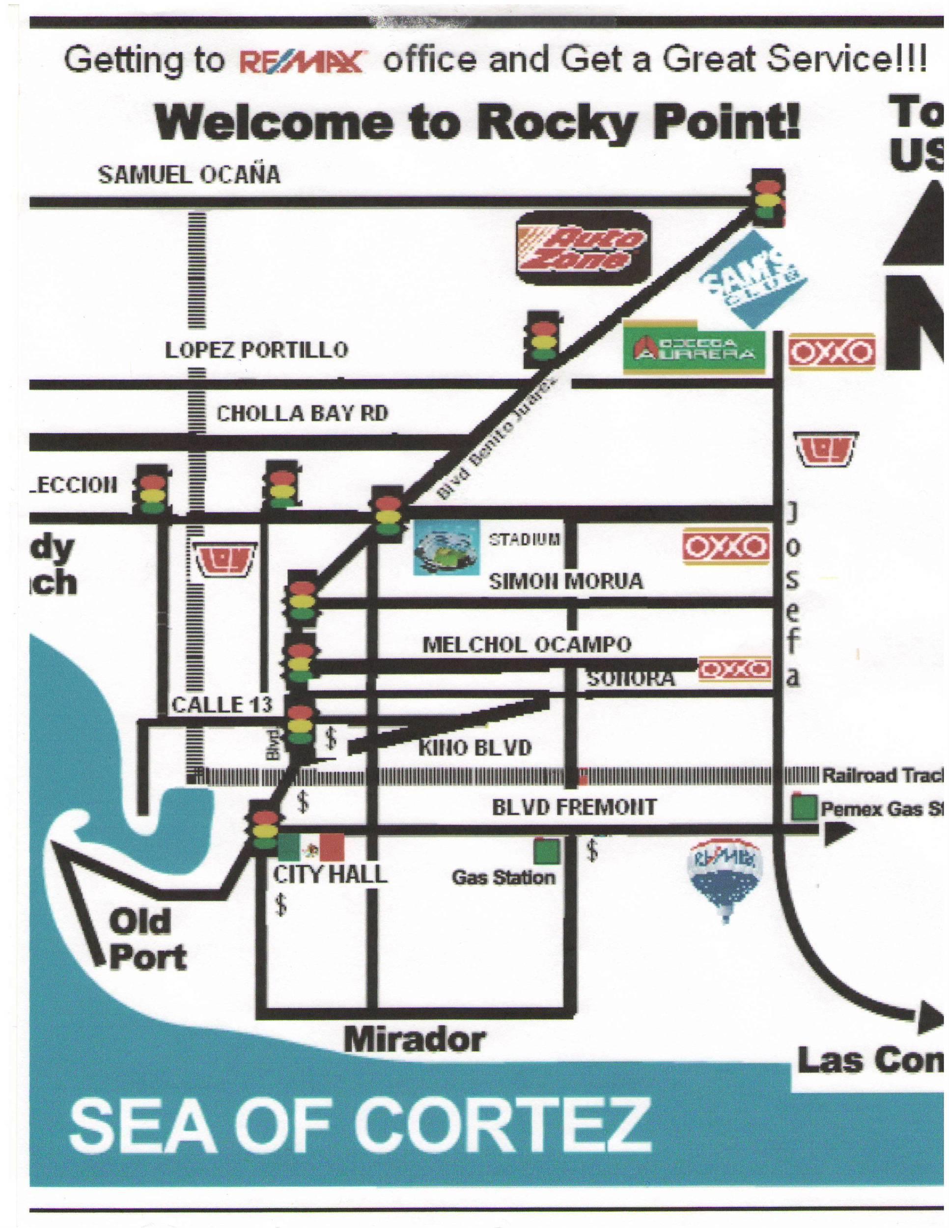 Rocky Point Map Grant Mackenzie Sr