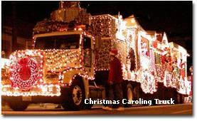 Christmas Caroling Truck - West Toluca Lake - Heather Farquhar Realtor