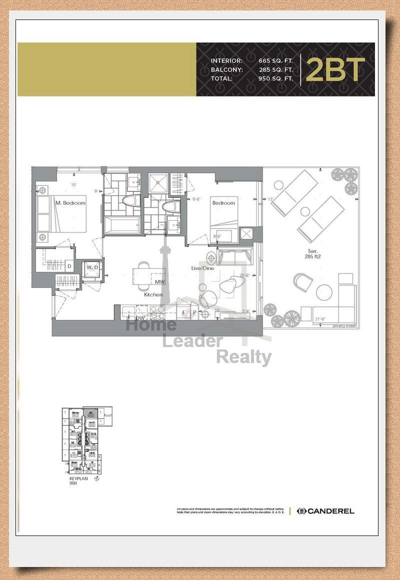 Yc condo toronto floor plans meze blog for Condo floor plan