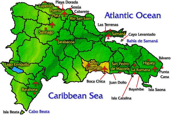Area Maps - Punta Cana Dominican Republic Dominican Republic Map Punta Cana on