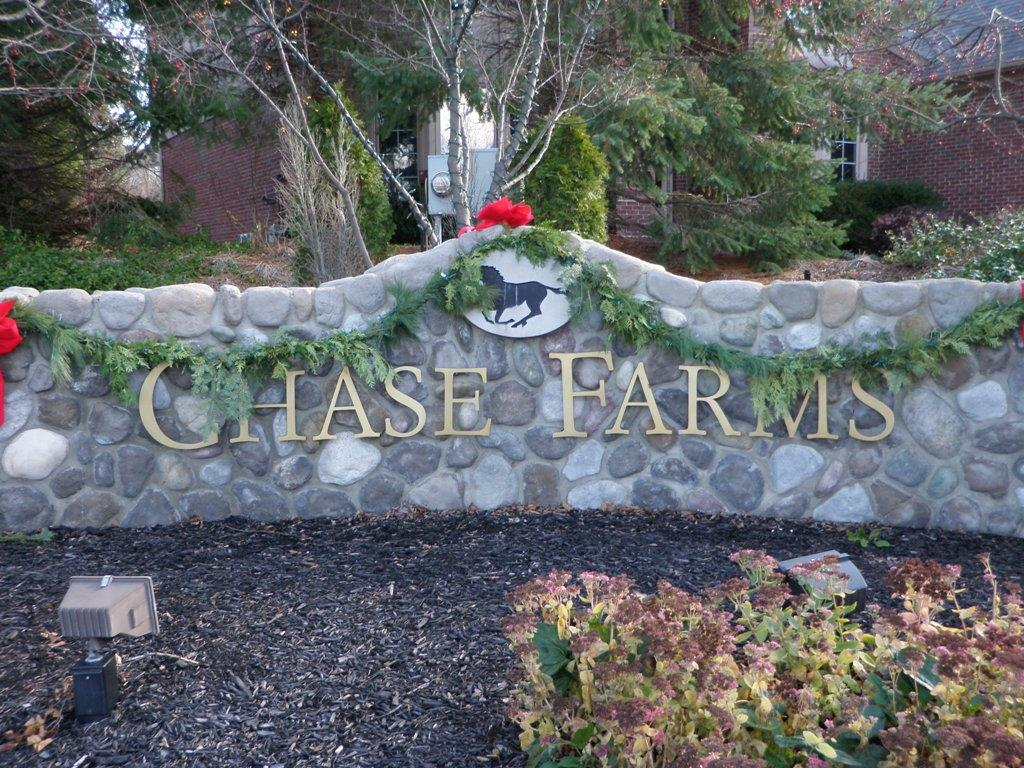 Chase Farms Entrance Sign