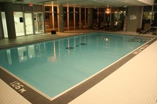 Solstice condominium indoor pool