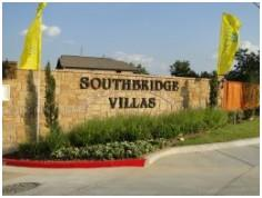 The entry to the Southbridge Villas development in South Austin