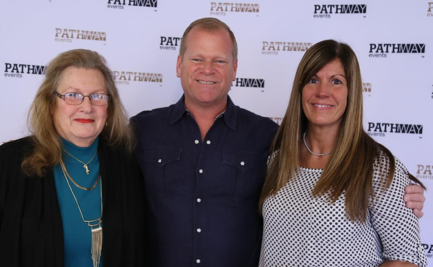 Betty and Yvonne with Mike Holmes of HGTV Channel after a Real Estate Investor seminar