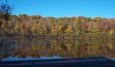 Pond Mills. a nature park inside London Ontario