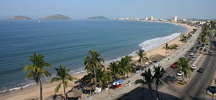 Beaches in Mazatlan, Mexico